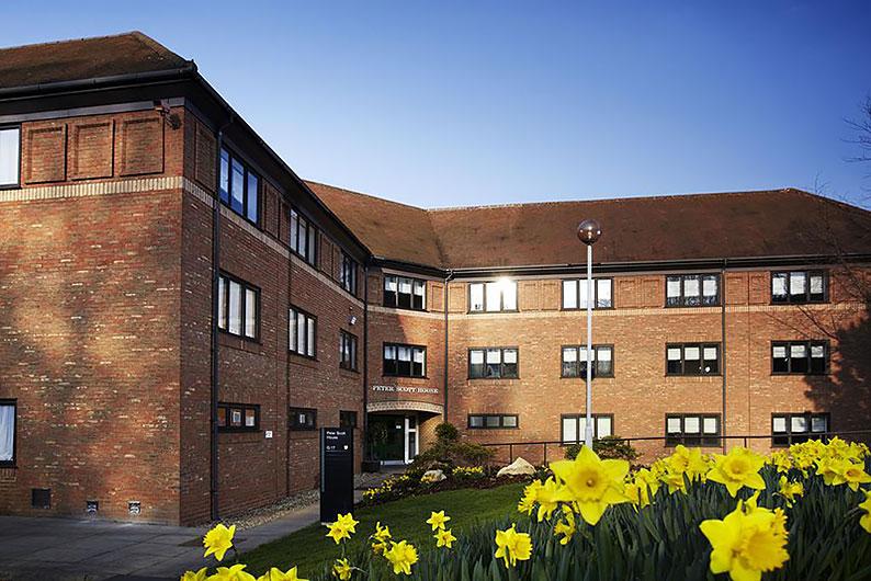 Venue Birmingham building